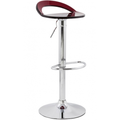 Bartelli design barkruk rood (BS00170RE)