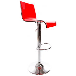 Bartelli design barkruk rood (BS00360RE)